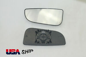 For Dodge Ram 1500 2500 3500 Drive Side Towing Mirror Spotter lower Glass 10-16