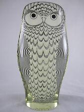 Vintage Abraham Palatnik Lucite Acrylic Mid Century Modern Owl Art Sculpture