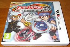 NINTENDO 3DS GAME BEYBLADE EVOLUTION WITH UNSCRATCHED PIN, CARD, CASE & INST
