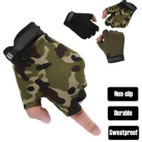 Half Finger Fishing Gloves Tactical Anti-slip Touch Screen Hunting Camping New