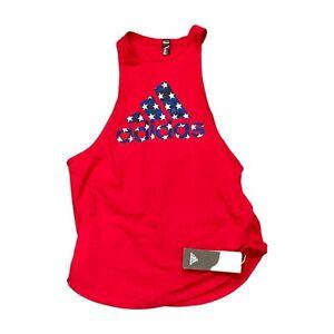 NWT NEW Adidas America AAC Women's Tank Top Shirt Medium GN7262