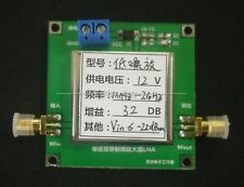 0.01-2000MHz 2Ghz LNA RF Broadband Low Noise Amplifier Module 32dB HF VHF / UHF
