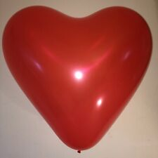 """VALENTINE DAY Giant 36"""" Heart Shaped Red Latex Balloon"""