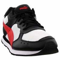 Puma Vista Lux Lace Up Sneakers  Casual    - Black - Mens