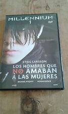 USADO - DVD de la película  LOS HOMBRES QUE NO AMABAN A LAS MUJERES -