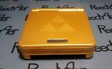 Gold Zelda Gameboy Advance SP *MINT* AGS-101 Brighter Nintendo Triforce system