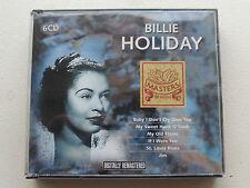 CD BILLIE HOLIDAY  BEST OF, 6 CD, 30 TITRES, OCCASION, TRES BON ETAT