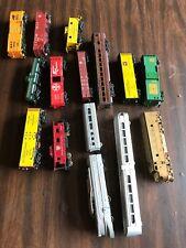 HO Train Lot Cars, Transformers, Track,