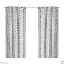 IKEA 100 Cotton Curtains Drapes Valances For Sale