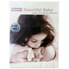 NEW Fisher Price Beautiful Baby Baby's First Music Collection 3 Audio CD Set