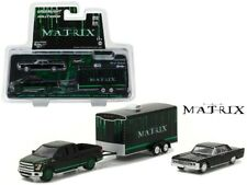 Matrix Set Models Ford F150 & Lincoln Continental with Trailer 1/64 Greenlight