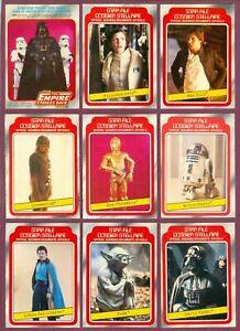 1980 1983 JEDI O PEE CHEE OPC Star Wars Empire Strikes Back Card 1-132 SEE LIST