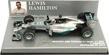 Minichamps Mercedes W05 Australian GP 2014 - Lewis Hamilton World Champion 1/43