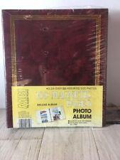 Vintage MBI Photo Album 100 Magnetic Pages for Photos Mementos USA no7750
