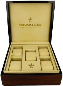 Dreyfuss & Co Watch Box Only Holds 5 NEW