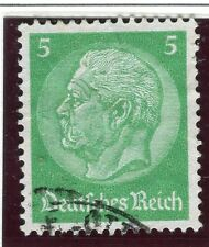 GERMANY;    1934 early Hindenburg issue fine used 5pf. value