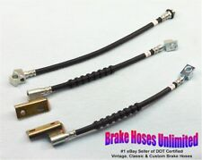BRAKE HOSE SET Ford Falcon Station Wagon 1968 1969 1970 - Disc