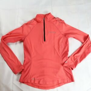 Pearl Izumi Elite Women's Size XS Cycling 1/4 Zip Long Sleeve In-R-Cool Pink