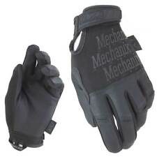 Mechanix Recon Tactical Shooting Gloves Police Security Work Touchscreen Black