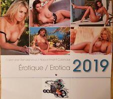 2019 HOT ROD / CAR / RAT ROD / EXOTIC WOMEN WALL CALENDAR / 12 WOMEN..USA SELLER