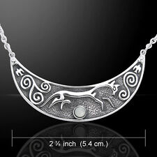 Mickie Mueller Rhiannon Epona .925 Sterling Silver Necklace Peter Stone