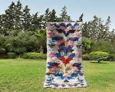 Moroccan rug,azilal rug,berber,tapish azilal,beni ourain Handmade 2,3 x 5,2 feet