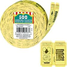 Ticket Roll 500ct Carnival Party Favors (A270007)
