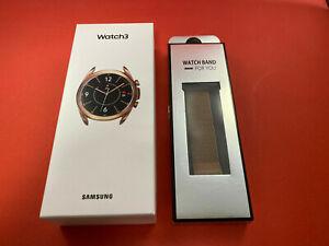 Samsung Watch 3 LTE 41mm Bluetooth Wi-Fi GPS Mystic Bronze OVP inkl. Armband