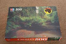 "1994 MB CROXLEY ""Prairie Creek Redwoods State Park, CA"" 500 Piece Jigsaw Puzzle"