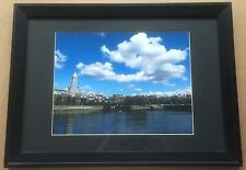 Vintage Seattle Waterfront & Viaduct Giclee Photo ca. 1960 - Frame 16x22