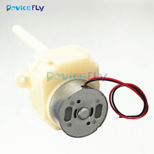 DC 6V 12V 8-16RPM Long Shaft Turbine Worm Gear Motor Slow Reduction Gear Box
