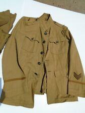 Original Us Ww1 Engineer Officer's Summer Uniform and Summer Weight Wool Pants