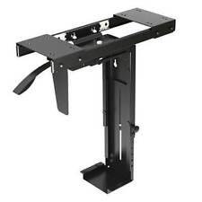 Brateck BT-CPB-5 Adjustable Under Desk CPU Mount - Black