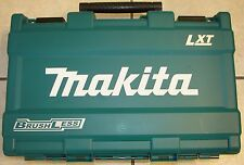 Makita Tool Case, Brushless Carrying case holds 2 Cordless tools, 2 batteries +
