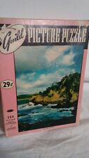 "VINTAGE GUILD PICTURE PUZZLE ""POINT LOBO, CAL."