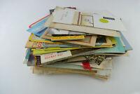 Huge Lot of Paper Ephemera 2+ Pounds LBS Vintage Post Cards Travel Maps Misc Etc