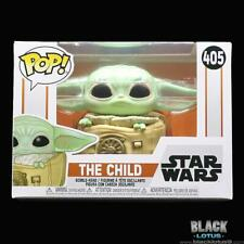 Funko Pop! Star Wars The Mandalorian Child with Bag Baby Yoda IN STOCK Pop 405