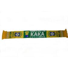 KAKA  #10 , BRASIL, 5 STARS , CBF LOGO  FIFA WORLD CUP THICK SCARF.. NEW
