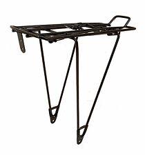 Unbranded Bicycle Pannier Rack - Black - Medium - No Bolts