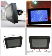 Car Speed Meter Gauge Odometer Voltmeter Inner GPS Signal Sensor+Suction Holder