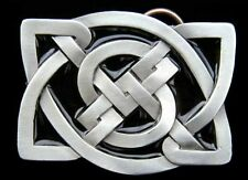 CELTIC SQUARE KNOTS BELT BUCKLE BUCKLES NEW!