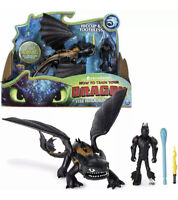 How To Train Your Dragon: Hidden World Hiccup & Toothless Action Figure Toy NEW
