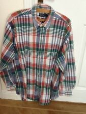 Mens Check Polo Ralph Lauren Casual Shirt size Large