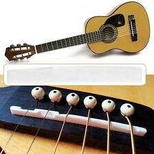 Buffalo Bone Bridge Saddle Replacement Parts For 6 String Acoustic Guitar GU