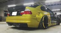 BMW E46 M3 CSL Style Rear Bumper Diffuser