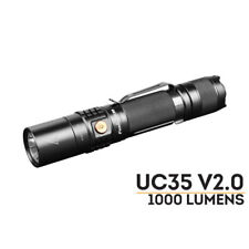 Fenix UC35 V2.0 1000 Lumen Flashlight -Cree XM-L-U2/Uses 18650*1 Included