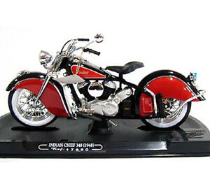 Guiloy  #17650 1/10 INDIAN CHIEF 384 (1948) / BLACK-RED