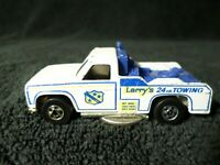 Vintage Hot Wheels Tow Truck Larry's 24 hr Towing 'Blackwall'