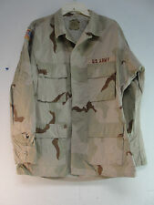 US MILITARY ARMY FIELD SHIRT JACKET COAT DESERT CAMO COMBAT CAMOUFLAGE MED – REG