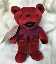 Scarlet Grateful Dead Bean Bear Collectibles 1999 NWT Plush